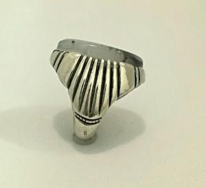 انگشتر عقیق شجر خطی غول پیکر-تصویر 3