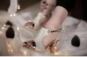 کفش مجلسی رزگلد