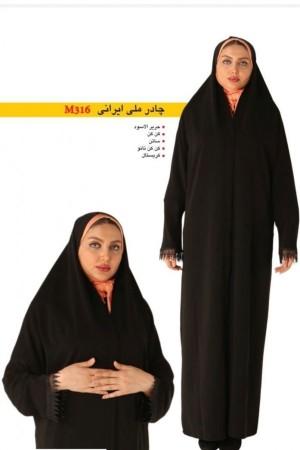 چادر ملی ایرانی پارچه کرپ کره ای