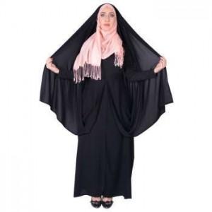 چادر قجری پارچه کرپ کره ای