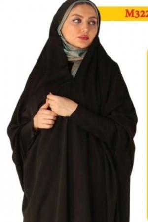 چادر زینت زيپ دار پارچه کرپ کره ای