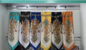 روسری نخ پنبه دیجیتالی-تصویر 2