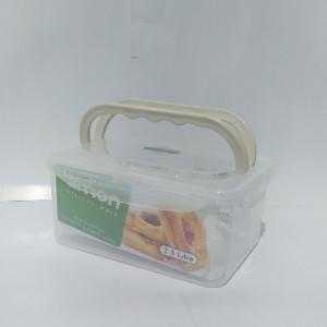 ظرف فریزری مستطیل 2/5 لیتری دسته دار لیمون-تصویر 3