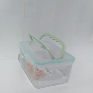 ظرف فریزری مستطیل 2/5 لیتری دسته دار لیمون-تصویر 4