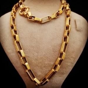 زنجیر طلای ۱۸ عیار