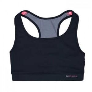 نیم تنه ورزشی زنانه بیلسی مدل 15Y7228-OR-NAVY                             Bilcee 15Y7228-OR-NAVY Sport Crop Top For Women