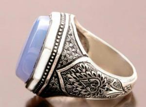 انگشتر نقره تمام دستساز