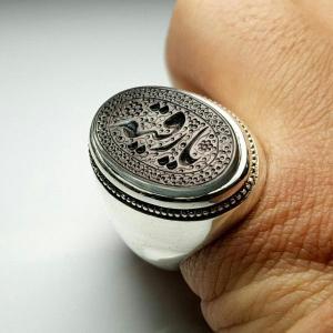 انگشتر نقره تمام دستساز-تصویر 2
