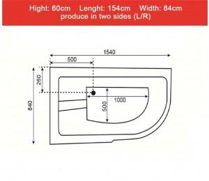 وان حمام Tenser مدل T102-تصویر 2
