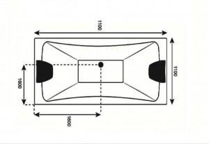 وان حمام Tenser مدل T305-تصویر 2