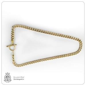 گردنبند کارتیه طلا +قفل تیفانی-تصویر 3