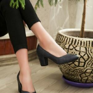 کفش مجلسی جنس چرم صنعتی درجه یکPam-تصویر 3