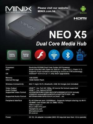 MINIX NEO X5   اندروید باکس مینیکس-تصویر 4