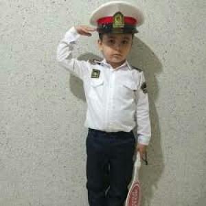لباس پلیس بچه گانه-تصویر 4