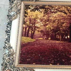 تابلو فرش جنگل پاییزی-تصویر 4