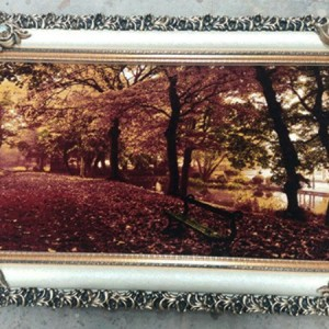 تابلو فرش جنگل پاییزی-تصویر 3