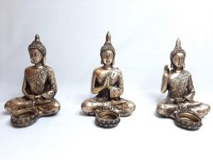 جا شمعی بودا سه طرح متفاوت