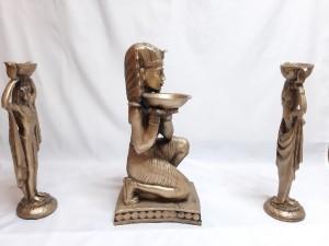 مجسمه مصری سه تیکه-تصویر 2