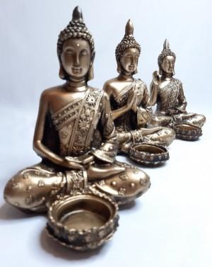 جا شمعی بودا سه طرح متفاوت-تصویر 2