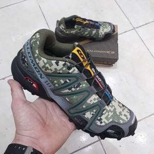 کفش کتانی salomon speedcross 3 مدل نظامی