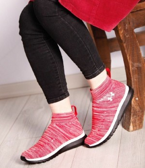 کفش کتانی زنانه کتونی اندرامور ساقدارزنانه-تصویر 3