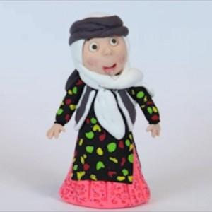 عروسک خمیری اقوام ایرانی