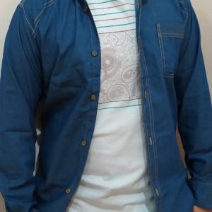 پیراهن جین مردانه-تصویر 5