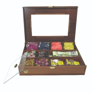 جعبه آجیل جعبه پذیرایی جعبه دمنوش جعبه خشکبار لوکس باکس کد LB19-تصویر 4