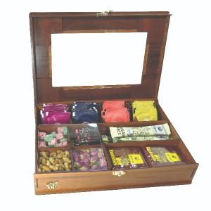جعبه آجیل جعبه پذیرایی جعبه دمنوش جعبه خشکبار لوکس باکس کد LB19-تصویر 2