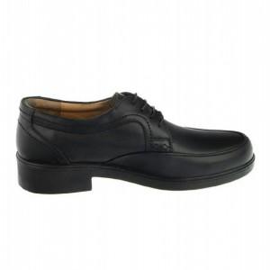 کفش مجلسی تمام چرم T12مشکی-تصویر 3