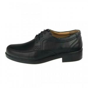 کفش مجلسی تمام چرم T12مشکی-تصویر 2