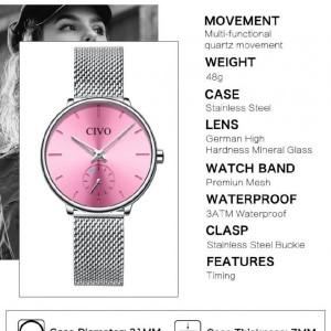 ساعت زنانه CIVO New collection Model: SAMBA-تصویر 2
