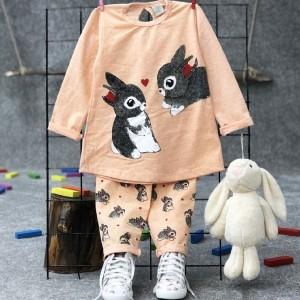 بلوز شلوار خرگوش بازیگوش-تصویر 2
