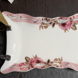 شیرینی خوری لبه گل دار رومنس-تصویر 2
