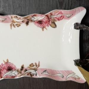 شیرینی خوری لبه گل دار رومنس-تصویر 5