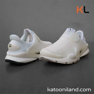 کفش کتانی نایک ساک دارت سفید-تصویر 3