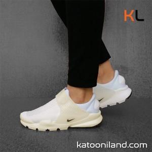 کفش کتانی نایک ساک دارت سفید