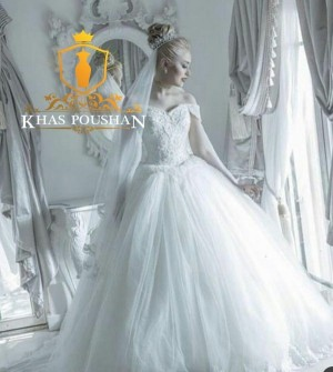 لباس عروس مزون دوز نایست