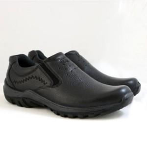 کفش چرم طبی فرزین مدل کلارک بدون بند(کشی)-تصویر 3