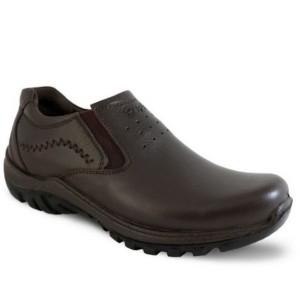 کفش چرم طبی فرزین مدل کلارک بدون بند(کشی)-تصویر 4