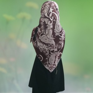 روسری ساتن ابریشم-تصویر 4