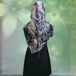 روسری ساتن ابریشم-تصویر 2