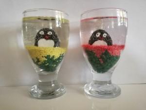 شمع ژله ای پنگوئنی