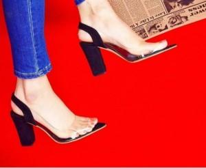 کفش پاشنه دار تلقی