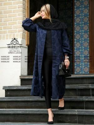 مانتو ژاکارد یاخما مدل هستی-تصویر 5