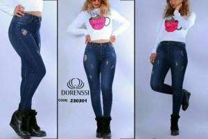 شلوار جین زاپ دار-تصویر 3
