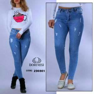 شلوار جین زاپ دار-تصویر 2