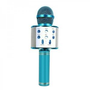 میکروفون اسپیکر دار صورتی و آبی