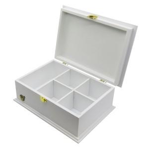 جعبه آجیل و خشکبار جعبه پذیرایی جعبه چوبی کد LB 103W-تصویر 3