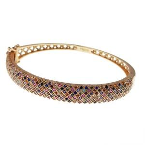دستبند نقره زنانه مدل پرنس ALt-A2522